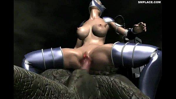 Giant Heroine Blue Jener 3D HD Smplace.com