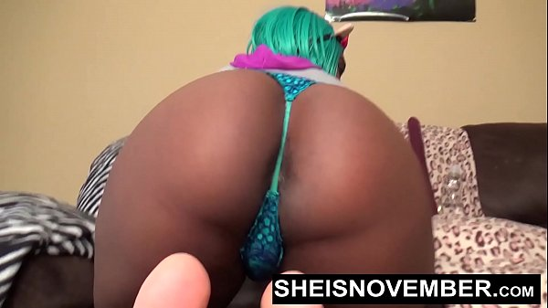 Msnovember HD My Shithole Feels Horny And I Have To Push A Butt Plug Deep Into My Black Assass To Feel Better After Pulling These Panties Down Ass  In Cosplay Yiff Costume Sheisnovember